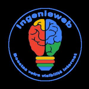 Logo-rond Ingenieweb créatio référencement site internet