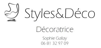 Logo Style&Déco agence décoration hyères var - décoration meubles éclairage conseil home staging sophie gallay