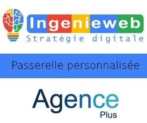 Passerelle-Agence-Plus avec site internet ingenieweb