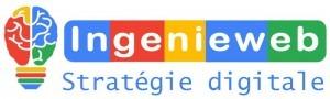 Logo Ingenieweb - création site internet - référencement - stratégie digitale