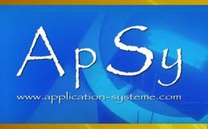 logo ApSy Bleu blanc